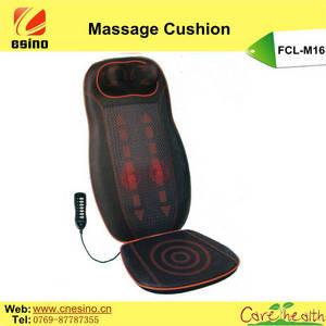 Wholesale neck cushion: ESINO Comfortble Spine and Neck Car Seat Massage Cushion