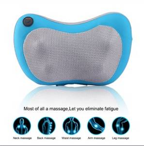 Wholesale free call machine: New Electric Back Massager Cushion for Car Seat, 3D Massage Shiatsu Pillow Massager with Heating