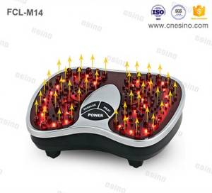 Wholesale point sticker: Esino Electric Vibrating Infrared Blood Circulation Foot Massager
