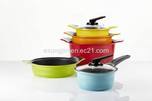 Wholesale pot stand: Ceramic Coated Nonstick Cookwares