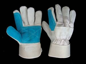 Wholesale leather glove: Eternity Cow Split Leather Glove Importers