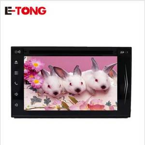 Wholesale car pc: Universal Car PC Player Quad Core 6.2 Inch 2 Din Android 6.0 Car Stereo Radio GPS Navigation Wifi St