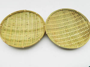 Wholesale Basketry: Flat Bamboo Plate