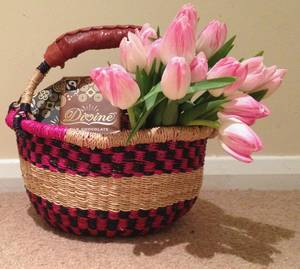 Wholesale basket: Seagrass Bolga Basket