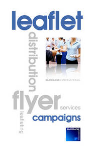 Wholesale Other Advertising Services: Leaflet Distribution Services
