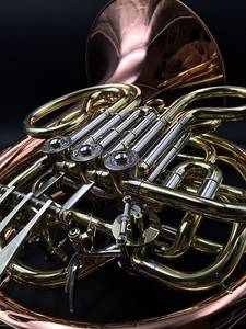 Wholesale Musical Instrument: French Horn,Handmade,Gold Brass,Gold Lacquer,HG-200, Alexander Style