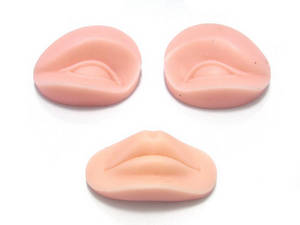 Wholesale beauty tool: 3D Beauty Tool Permanent Lip Eyebrow Practice Tattoo Skin Spare Parts
