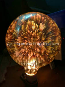 Wholesale fireworks: 2016 New Product LED Firework Lamp Colorful Bulb