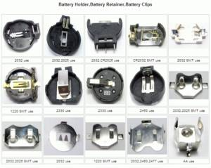 Wholesale battery cell: Battery Holder and Battery Retainer for Button Cell