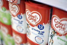 Wholesale packing box: Cow and Gate Infant Milk