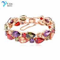Unique Design Cheap Diamond Charming Bracelet