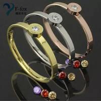 Simple Design Fashion Bangles Bracelet for Girls