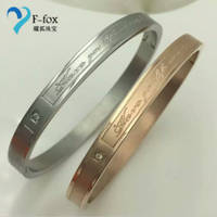 Stainless Steel Jewelry Lovers' Fashion Bangles