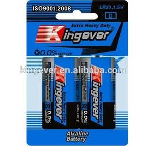 Wholesale dry battery: Super Power 1.5V D AM-1 LR20 Alkaline Dry Cell Battery