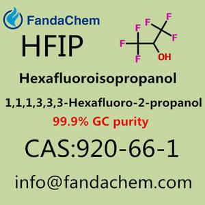 Wholesale Organic Intermediate: Cas No 920-66-1 HFIP; 1,1,1,3,3,3-HEXAFLUOROPROPAN-2-ol 99.9%