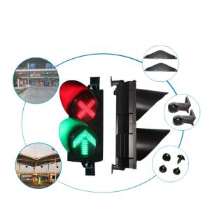 Wholesale led controller: Red Cross& Green Arrow with 200mm Stop and Go LED Lane Control Light