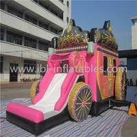 Sell Inflatable Princess Carriage Combo
