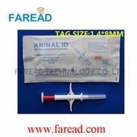 RFID Animal ID Microchip Injector ,1.4*8mm/10mm