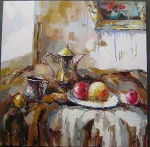 Wholesale oil painting: Still Life Impressioin Modern Oil Painting