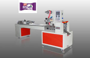 Wholesale candy wrapper: FLD-988E Automatic Multifunction Pillow Packing Machine