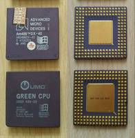 Sell Rare vintage AMD or Green cpu gold scrap cpu