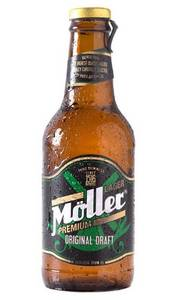 Wholesale packing box: Moller Lager Beer 24 X 25cl