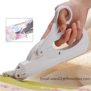 Wholesale Sewing Supplies: 2AA Batteries Operated Electric Sewing Scissor FS-101