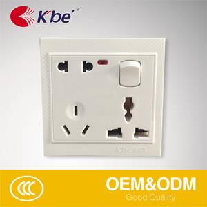 Wholesale panel pc: Bangladesh Hot Sell PC Panel 6 PIN Unviersal Socket Switch