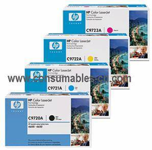 Wholesale color toner: HP C9700A/ C9720A/ C9730A/ Q6000A Color Toner Cartridge