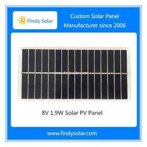 Wholesale solar panel: 8V PV Solar Panel 1.9W, PV Module 8V