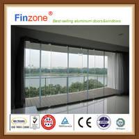 2016 New Design Balcony Window Glass Curtain