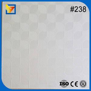 Wholesale fiber cement roof tile: PVC Laminated Gypsum Ceiling Tiles/Gypsum Ceiling Board/Gypsum Ceiling Tiles
