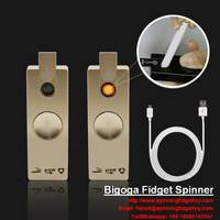 Fidget Spinner Lighter with LED Light