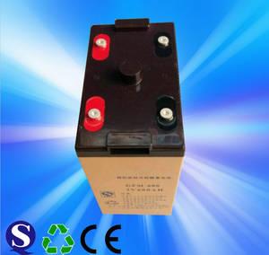 Wholesale preparation station: Rechargeable Solar Gel Battery 2v 600AH GEL2-600 for Telecom System