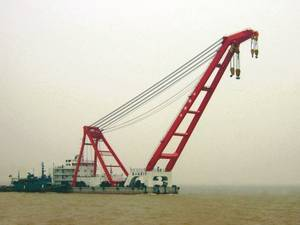 Wholesale Cranes: Floating Crane 800t 800 Ton Crane Barge Sell