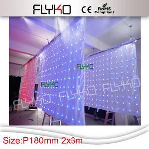 Wholesale light curtain: LED Star Curtain/LED Video Curtain/RGB Curtain/Stage Light