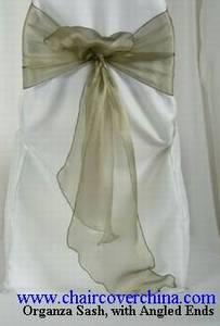 Wholesale sash: Organza Sashes