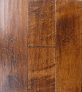 Wholesale engineered wood flooring: Handscraped Engineered Wood Flooring(Birch)