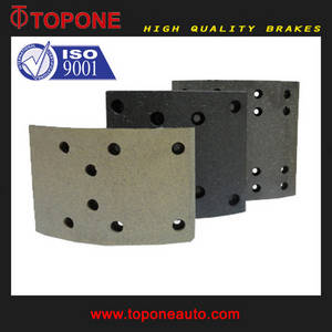Wholesale brake lining pad: For Auto Parts Truck Brake Lining Pad 19037/19036 19094
