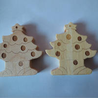 Sell Christmas tree wooden USB flash drive