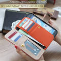 Sell Genuine Cowhide Leather Galaxy Note 2 Mobile Phone Case Wallet Case