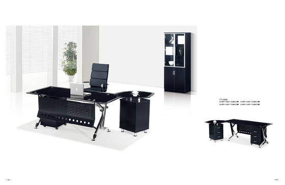 office desk: Sell glass office table