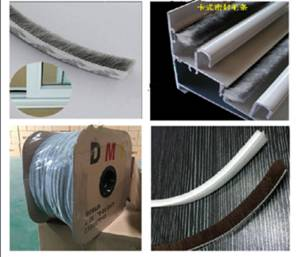 Wholesale sealing strip: Weather Strip/ Felt Seal Strip/Wool Pile/Pile Strip