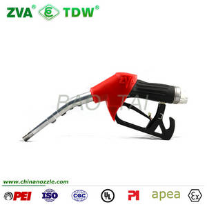 Wholesale fuel nozzle: Gas Station Equipments ZVA DN 16 Automatic Fuel Oil Nozzle for Fuel Dispenser