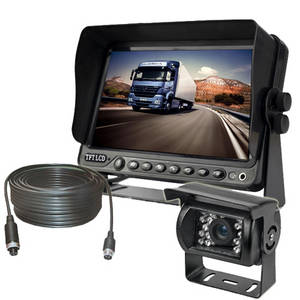 Wholesale 4 pin aviation connector: 9inch Car Rear View Monitor