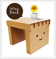 Paper Furniture for Kids -mileydesk-