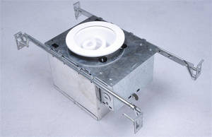 Wholesale Downlights: 4 Compact Fluorscent New Construction Recessed Lighting Housing