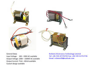 Wholesale transformer: High Voltage Transformer - Core & Coil Transformer