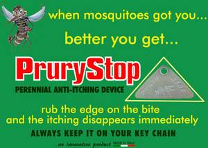 Wholesale Pest Control: Prury Stop After Bite Anti-itching