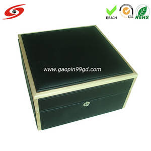 Wholesale fashion watch: Fashion PU Leather Watch Box